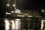 De Midsland bemand vanwege het hoge water