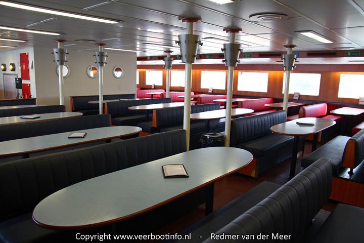 MS Midsland interieur - buffetsalon