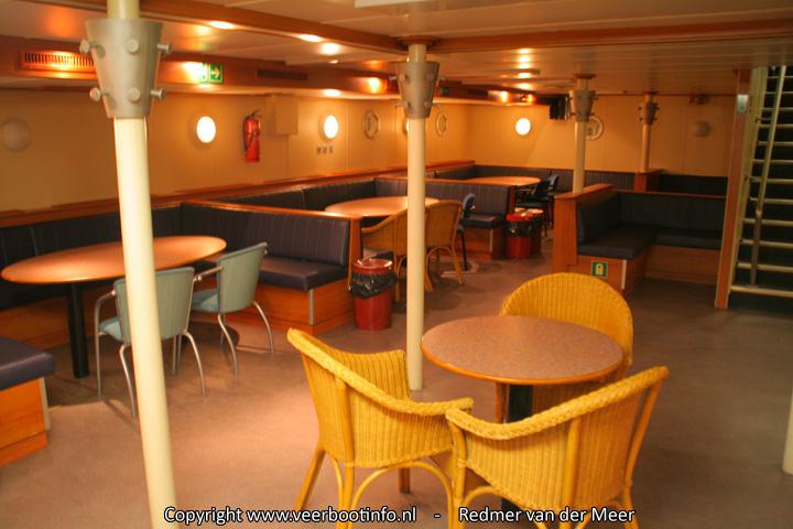 MS Midsland interieur -Barsalon