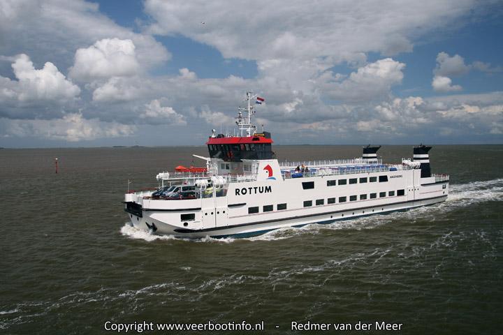 Veerboot Rottum 1985