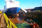 Princess Seaways werf Gdynia (DFDS)