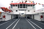 Autodek en stuurhuis veerboot MS Rottum