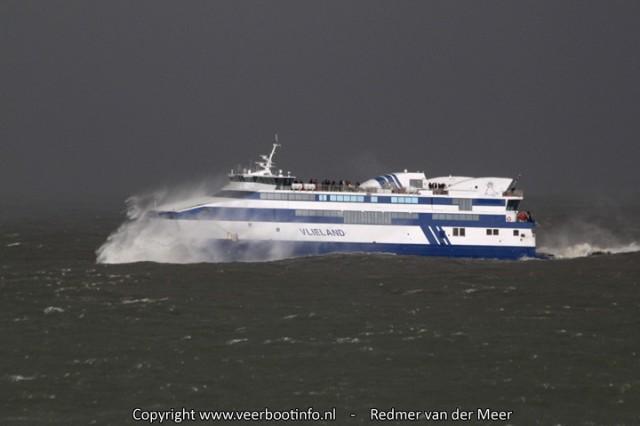 Veerboot Vlieland storm