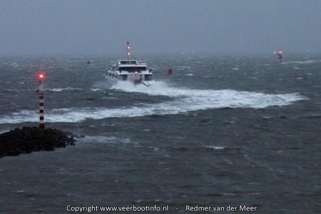 Veerboot Tiger storm Harlingen
