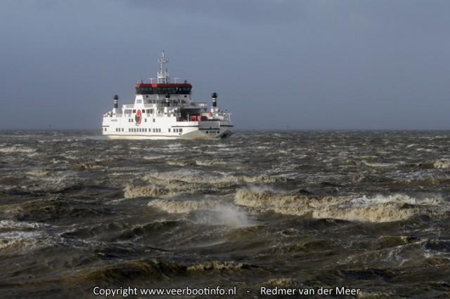 Veerboot Oerd storm