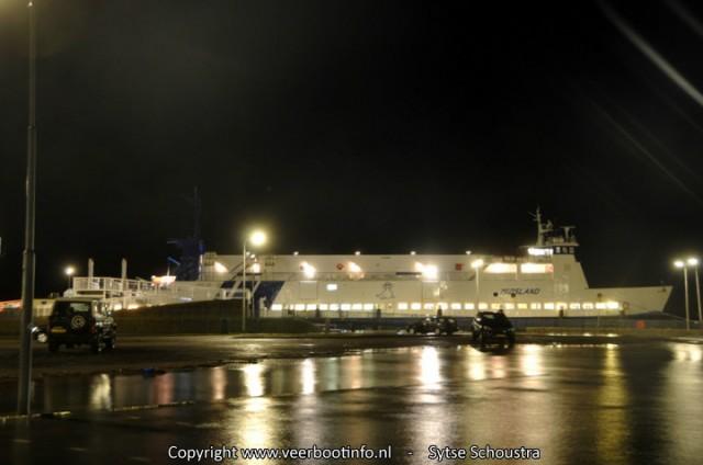 Midsland Hoogwater veerboot Terschelling