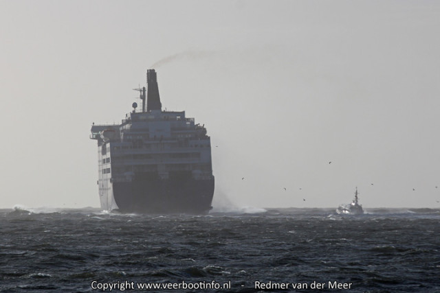 Princess Seaways Storm IJmuiden
