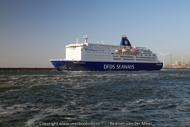 Princess Seaways solar eclipse