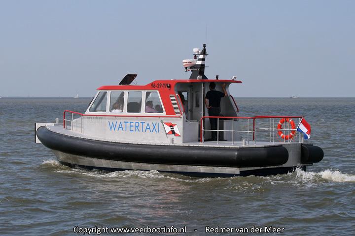 Wagenborg watertaxi
