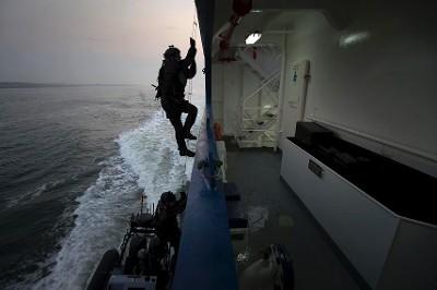 Enteren veerboot