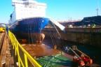 Princess Seaways werf Gdynia (DFDS)