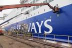 Princess Seaways geverfd werf (DFDS)