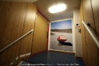 Trap en foto aan boord Spathoek EVT