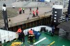 Veerboot Spathoek EVT autobrug Terschelling