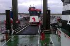 De navigatiebrug van de Rottum gelost op Ameland (GB)
