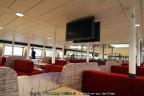 TV-schermen veerboot Rottum Wagenborg