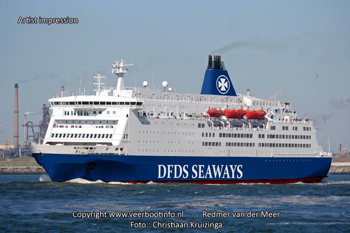 King Seaways (Artist impression new livery)