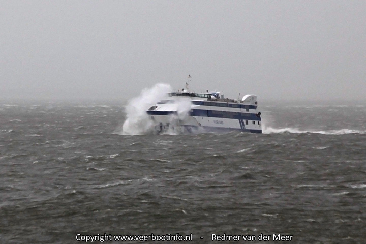 MS Vlieland storm