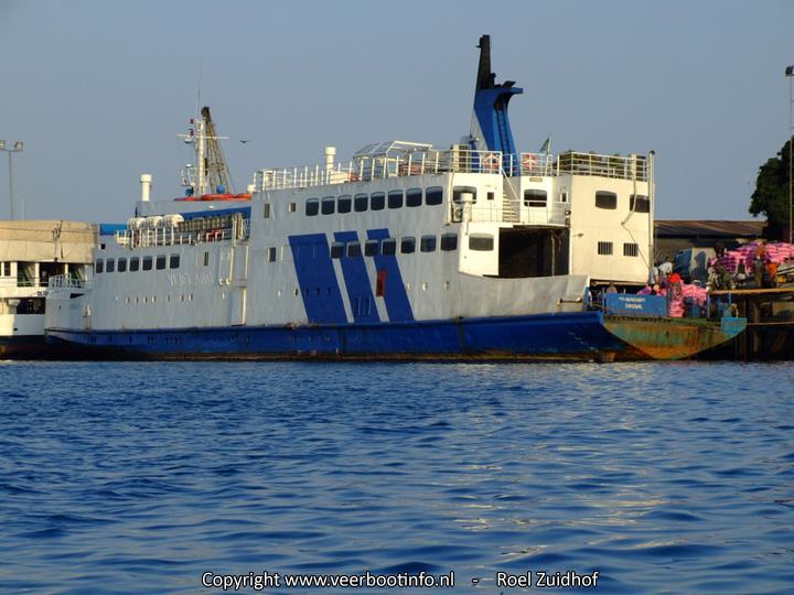 MV Serengeti ferry terug in dienst