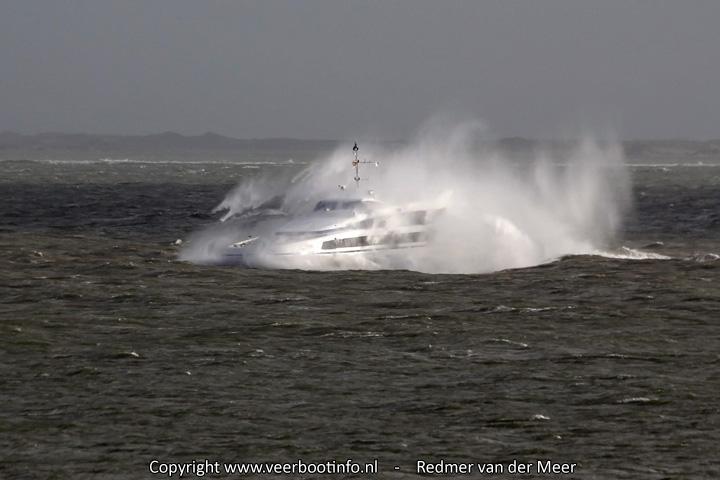 Golfhoogte sneldienst Vlieland
