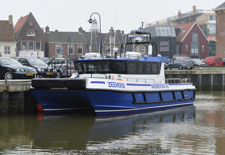 Waddentaxi Zeehond in Harlingen